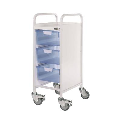 Sunflower Vista 30 Clinical Trolley - 3 Double Trays