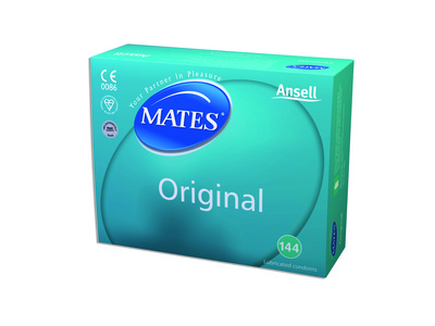 Mates Original Condoms - Clinic Pack x 144