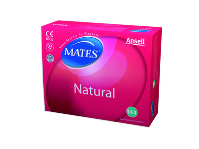 Mates Natural Condoms - Clinic Pack x 144