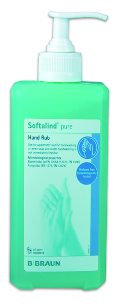 Softalind® Pure Hand Rub 500ml