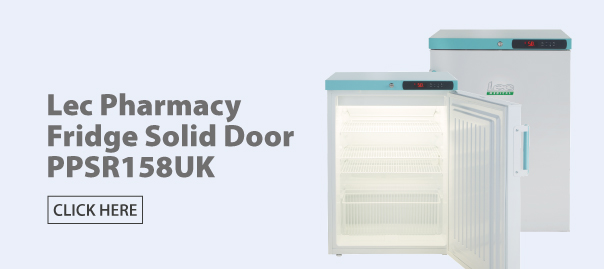 Lec PPSR158UK Pharmacy Refrigerator
