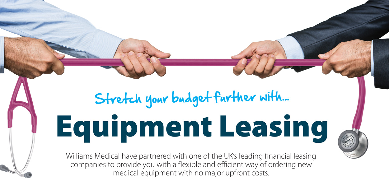 Equipment Leasing Banner